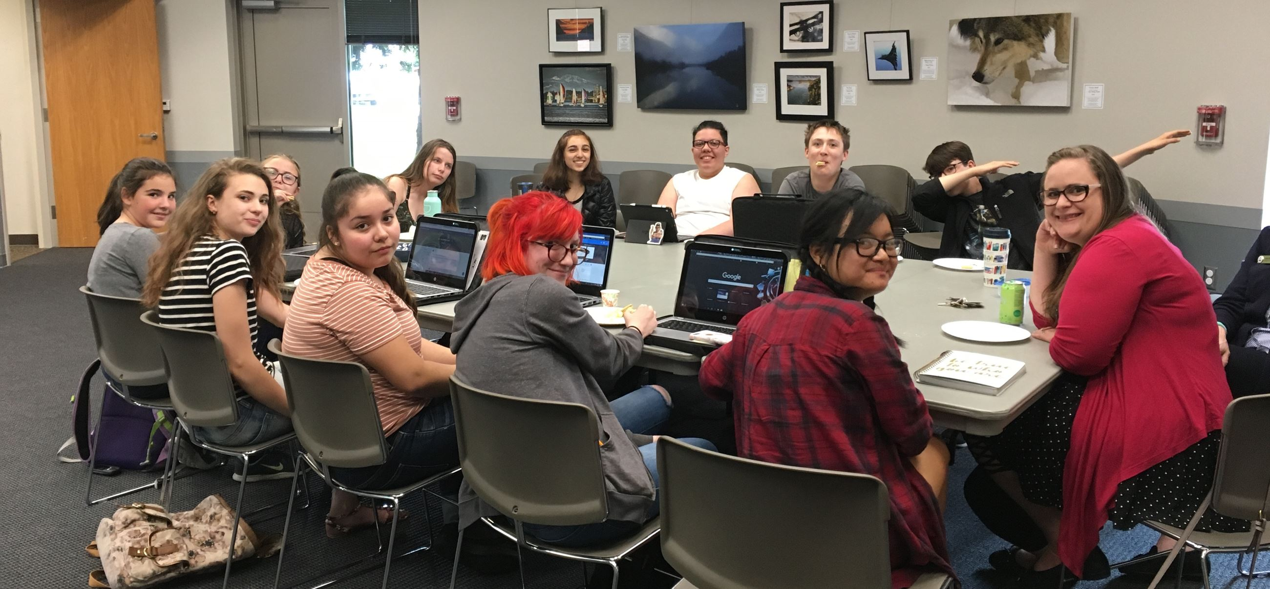 Teen Writing Group 2019