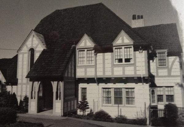 Barrick house front 1970s