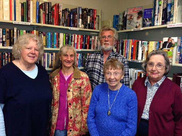 Group of Friends of the Library members