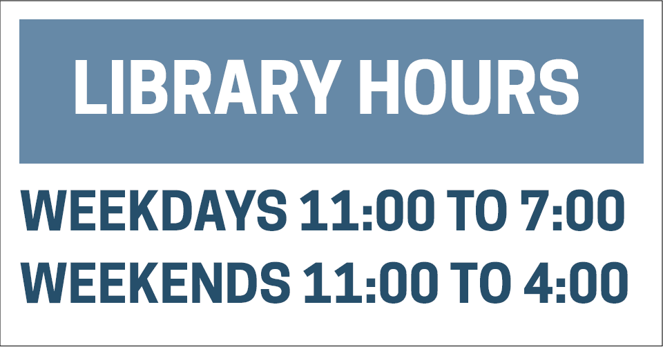 Library HOurs two